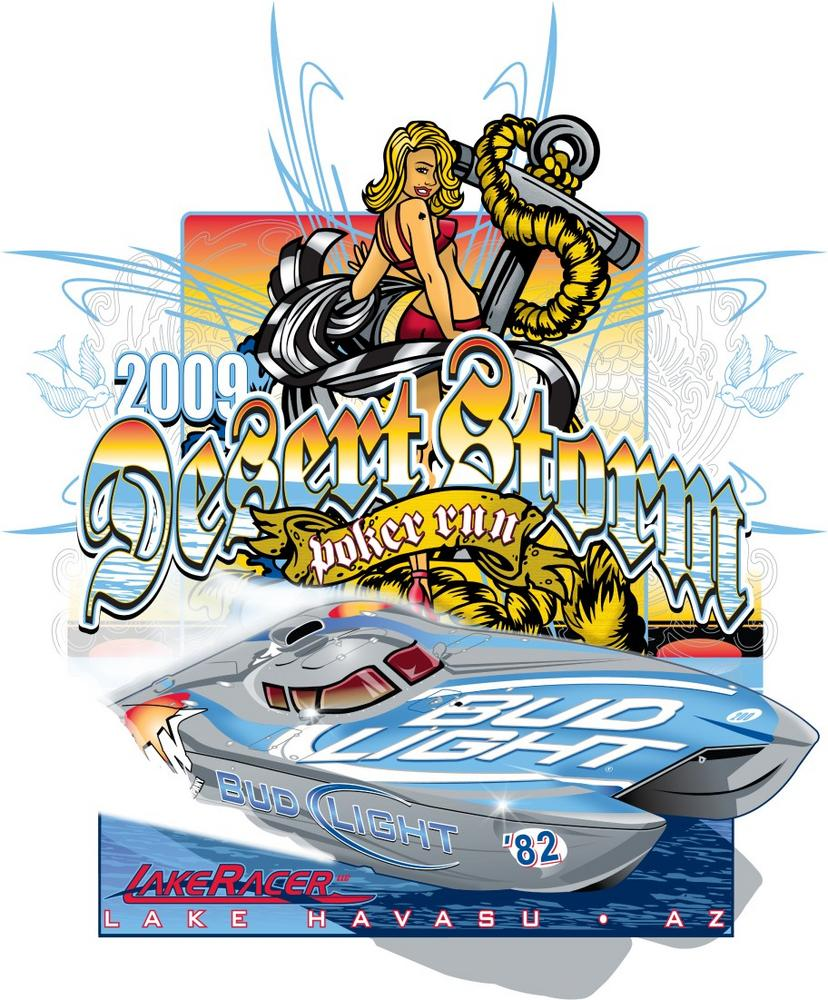 2009 Desert Storm Poker Run Lake Havasu Az Info